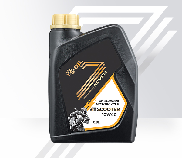S-OIL 7 4T SCOOTER<Automotive Oil<Product | S-OIL SEVEN