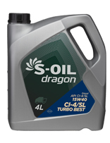 S-OIL dragon TURBO BEST
