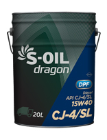 S-OIL dragon CJ-4/SL
