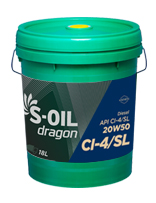 S-OIL dragon CI-4/SL