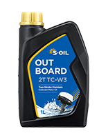S-OIL OUTBOARD 2T TC-W3