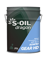 S-OIL dragon Gear HD