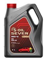 S-OIL 7 RED #9 SN