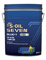 S-OIL 7 BLUE #7 CI-4/SL